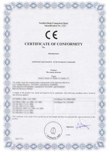 Сертификация СЕ